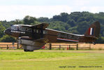 G-AGJG @ EGTH - A Gathering of Moths fly-in at Old Warden - by Chris Hall