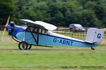 G-ABNT @ EGTH - A Gathering of Moths fly-in at Old Warden - by Chris Hall