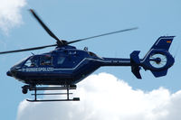 D-HVBS @ EDFC - Eurocopter EC-135T-2 of the German Police on approach to Aschaffenburg airport - by Van Propeller