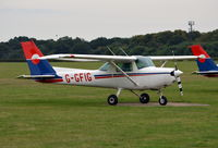 G-GFIG @ EGLD - Cessna 152 at Denham. Ex EI-CCP - by moxy