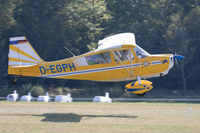 D-EGPH @ EDST - Departing the 2016 Hahnweide Oldtimer Fliegertreffen - by alanh