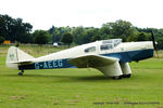 G-AEEG @ EGTH - A Gathering of Moths fly-in at Old Warden - by Chris Hall