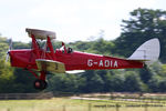 G-ADIA @ EGTH - A Gathering of Moths fly-in at Old Warden - by Chris Hall