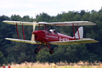 G-ACDA @ EGTH - A Gathering of Moths fly-in at Old Warden - by Chris Hall