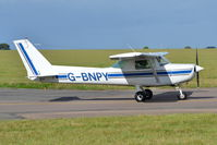 G-BNPY @ EGSH - Departing from Norwich. - by Graham Reeve