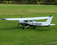 G-BONW @ EGCB - At the City Airport Manchester,  Barton EGCB - by Clive Pattle