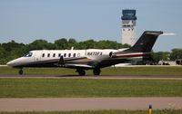 N472FX @ LAL - Flexjet Lear 75