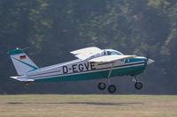 D-EGVE @ EDST - Departing the 2016 Hahnweide Oldtimer Fliegertreffen - by alanh