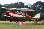 G-ANZT @ EGTH - A Gathering of Moths fly-in at Old Warden - by Chris Hall