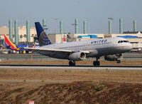 N497UA @ LAX - United