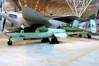 120076 @ CYRO - Heinkel 162A-2 Salamander [120076] Ottawa-Rockcliffe~C 19/06/2005. Now with Deutsches Technik museum. - by Ray Barber