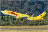 D-ATUK @ EDDR - Boeing 737-8K5 - by Jerzy Maciaszek