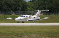 N502TS @ ORL - Eclipse 500