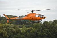 G-ERKN @ EGKR - Eurocopter AS-350B-3 Ecureuil at Redhill. Ex EC-IHX - by moxy
