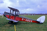 G-ABDX - De Havilland DH-60G Gipsy Moth [1294] (Place & date unknown) @ 1984. From a slide.