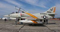 N524CF @ YIP - TA-4F Skyhawk