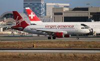 N525VA @ LAX - Virgin America