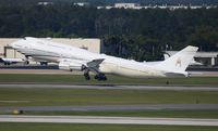 V8-BKH @ MCO - Sultan of Brunei departing Orlando International in his TWO day old jet.  First shot I believe on the web.  Aircraft built in 2012, but spent time in the desert and getting interior outfitted