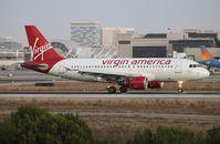 N529VA @ LAX - Virgin America