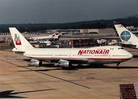 C-FDJC @ EGKK - Nationair - by kenvidkid