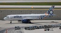 N569JB @ FLL - Jet Blue 10 years