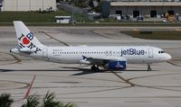 N586JB @ FLL - Jet Blue I Love Blue York