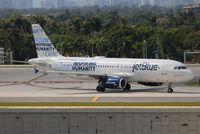 N598JB @ FLL - Jet Blue Inspiring Humanity