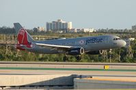N605JB @ FLL - Jet Blue Boston Red Sox