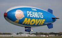 N618LG @ ORL - The Peanuts Movie