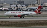 N623VA @ LAX - Virgin America