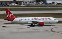 N625VA @ FLL - Virgin America
