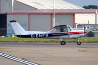 G-BNFR @ EGSH - Just landed at Norwich. - by Graham Reeve