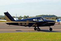 G-AYJP @ EGTK - Piper PA-28-140 Cherokee C [28-26403] Oxford-Kidlington~G 01/10/2011 - by Ray Barber