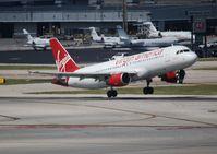 N635VA @ FLL - Virgin America