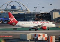 N636VA @ LAX - Virgin America