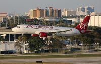 N641VA @ FLL - Virgin America