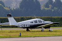 G-CBVU @ EGTK - Piper PA-28R-200 Cherokee Arrow [28-7135007] Oxford-Kidlington~G 01/10/2011 - by Ray Barber