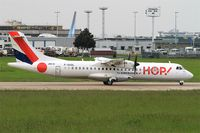 F-GVZL @ LFPO - ATR 72-212A,  Take off run rwy 08, Paris-Orly airport (LFPO-ORY) - by Yves-Q