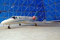 M-ELON @ EGTK - Cessna CitationJet CJ3 [525B-0148] Oxford-Kidlington~G 01/10/2011 - by Ray Barber