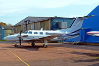 G-GMED @ EGTK - Piper PA-42-720 Cheyenne IIIA [42-5501050] (Air Medical) Oxford-Kidlington~G 01/10/2011 - by Ray Barber