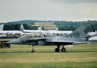 B01 @ EGLF - Taxying for take off at the 1998 Farnborough International Air Show. - by kenvidkid