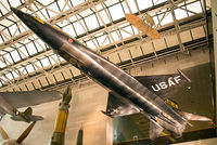 56-6670 - First X-15 on display at the National Air and Space Museum. Just three of these aircraft were built, and only 12 pilots flew them including Neil Armstrong for a total of 199 flights from 1959-68. - by Arjun Sarup