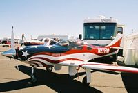 N27RM @ RTS - At the 2003 Reno Air Races. - by kenvidkid
