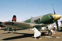 N13HP @ RTS - At the 2003 Reno Air Races. - by kenvidkid