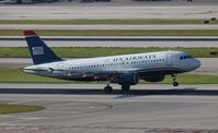 N710UW @ MIA - USAirways - by Florida Metal