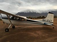 5H-PVT @ HTMO - At Morogoro airport Tanzania - by Ekko Oosterhuis