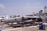 MM7095 @ LFPB - AMX of the Italian Air Force presented at Le Bourget, 1989 (51-33) - by Van Propeller