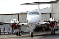 N6335F @ KRHV - Dewane Investments LLC (Scottsdale, AZ) 1982 Beechcraft King Air F90 parked next to Aerial Avionics for some new avionics upgrades at Reid Hillview Airport, San Jose, CA. - by Chris Leipelt