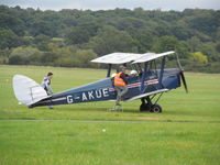 G-AKUE @ EGKR - just finished a local flight - by magnaman