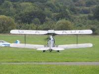 G-AKUE @ EGKR - nice bi-plane - by magnaman